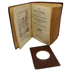 Miniature 'Shakespeare Bible' by Bryce. 1901.