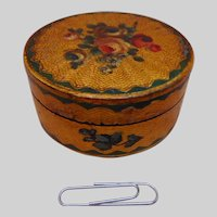 A very attractive lacquered bonbonniere. French. c 19thc