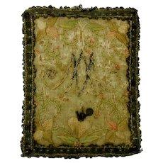 Religious relic- French 18th century devotional piece.