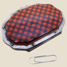 A Tartan Ware purse. Rob Roy tartan.