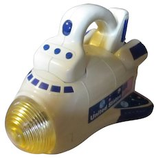Unique Space Shuttle Tandy Corp/Radio Shack/ toy Flashlight