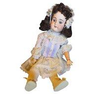 """Anitque B.J. & Co. My sweet heart 23"""" German Adolf Wislizenus bisque doll"""