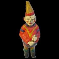 Vintage Jester Clown cast iron bank.