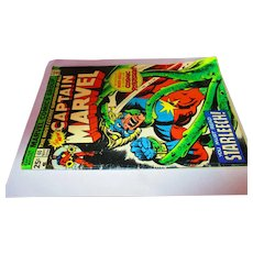 Vintage 1975 Captain Marvel 25 cent 40 Sept 02460