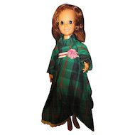 Vintage Ideal Crissy Doll, Turn around head.  1972