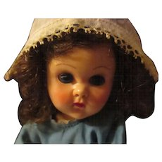 """Vintage Vogue 8"""" Ginny SLW, Doll Dutch outfit. NO extra clothes shown in picture are available - Red Tag Sale Item"""