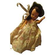 Vintage storybook doll.