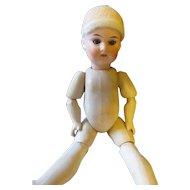 German Rauenstein 1783-1930 No. X O D. Bisque/compo doll.