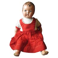Early 1930'- 1935 Ideal Doll HONEY BABY tin eyes.