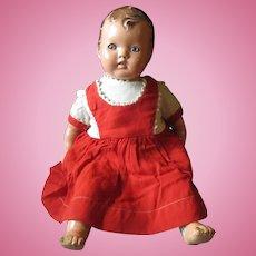 Early 1930'- 1935 Ideal Doll HONEY BABY tin eyes.
