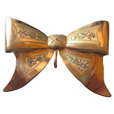 Vintage Bow Brooch by FMCo,