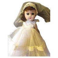 Vintage Vogue/Ginny Bride doll SLW