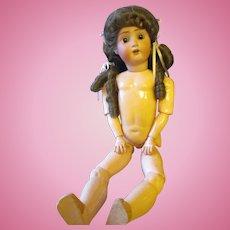 Sweet Nell Alt Beck & Gottochalck, Porcelain Doll  TLC/eyes