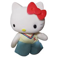 Hello Kitty marked 1974-1984 Sanrio.