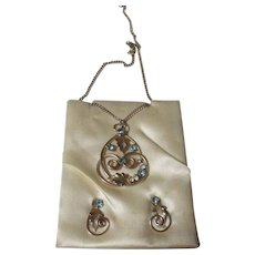 Vintage Necklace/earring set.