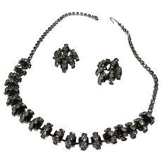Vintage unique classy necklace/earring set