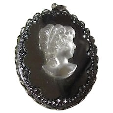 Vintage pendant mirror back ground