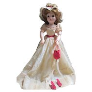 """Beautiful 1950's 20"""" Cissy Madam Alexander Doll/ needs new rubber band for head."""