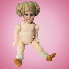 """Antique Mignonette/beautiful face feature 5 1/2"""" doll"""