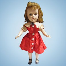 """Vintage 14"""" Doll marked with A on her neck"""