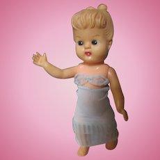 """Vintage rubber 7"""" Elizabeth doll/vintage barbie undergarment"""