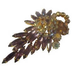 Absolutely gorgeous Juliana Navette, AB brooch
