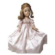 Vintage 1942 Fairy Princess All compo Madame Alexander Doll