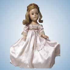 Vintage 1942 Fairy Princess All compo Madame Alexander Doll