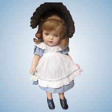 Vintage 1938 Flora McFlimsey Madame Alexander Doll/ compo