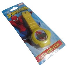 Collectable yellow Spider man watch 2008