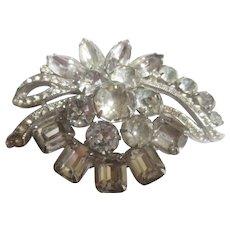 Vintage Lg Eisenberg/Ice bright and shiny rhinestones