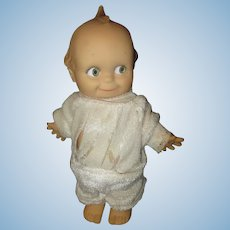 Vintage Rubber/squeaker/Rose O'Neill Doll