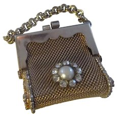 Vintage Miniature Mesh purse