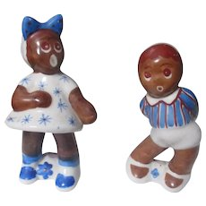 Vintage 1921-1941 Porcelain Black Americana figurines/Japan