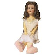 Antique Armand Marseille, D.R.G.M 246/1 Character doll porcelain Head, comp body.