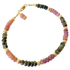 Tourmaline Bracelet in Classic Hues - Red Tag Sale Item
