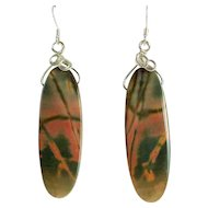 Natural Multi-Jasper Earrings