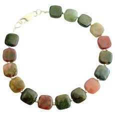 Tourmaline Multi-Color Pillows Bracelet