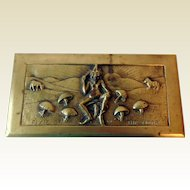 "Antique Bronze Box, ""Pixie of the Moor"""