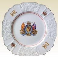 Vintage Queen Elizabeth II Coronation Plate, 1953