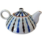 Vintage Art Pottery Miniature Sake/Teapot, Japan