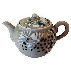 Early Japanese Banko Pottery Sake/Teapot, Miniature