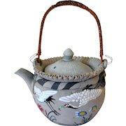 Early Japanese Banko Sake/Teapot, Miniature