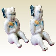 Antique Chinese Pottery Fertility Dolls (2)