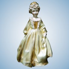 Early Royal Worcester Figurine, Grandmother's Dress