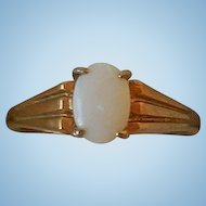 Vintage 14K Gold and Opal Ring