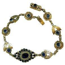 Antique Austro-Hungarian-Czech Bracelet, Late 19th Century