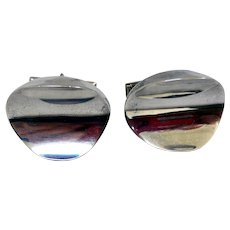 Sterling Silver Cuff Links, Taxco, Mexico