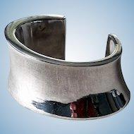 Simon Sebbag Sterling Silver Chunky, Curvy Cuff Bracelet