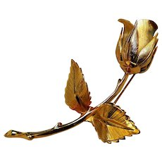 Exquisite and Romantic Rose Brooch, Giovanni